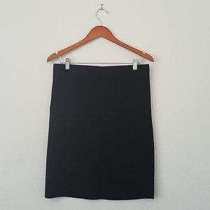 Ann Taylor Waffle Knit Bodycon Skirt